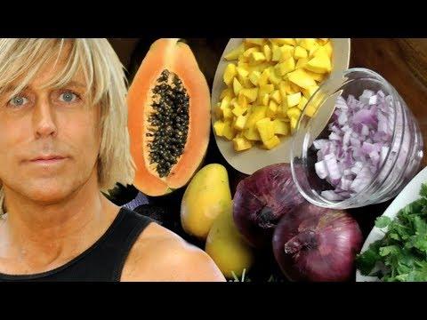 Avocado Tropical Mango Papaya Salsa Recipe- Warning ADDICTIVE !