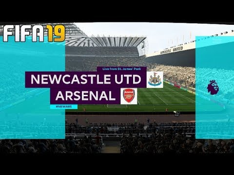 FIFA 19 | Newcastle v Arsenal | Full Match Gameplay