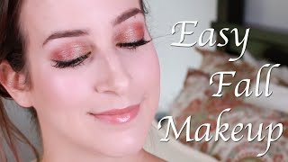 Easy Fall Makeup Look Thumbnail
