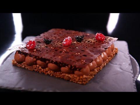 Fantastik au chocolat, mûres et framboises par Christophe Michalak (#DPDC)