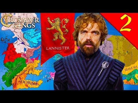TYRION LANNISTER! Crusader Kings 2: Game of Thrones: House Lannister #2