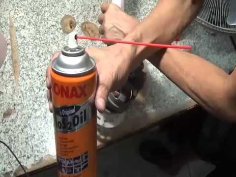 ซ่อมง่ายซ่อมได้เองอาการไม่หมุนหมุนเบาพัดลมHATARIรุ่นHC-S16M5 ตอน1ฉีดนํ้ามันจักร
