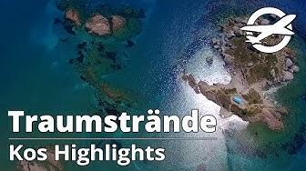 Kos Highlights ☀️ Die schönsten Strände der Insel ☀️