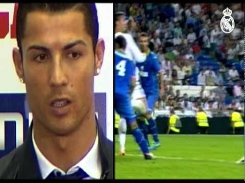 Cristiano Ronaldo recibió los trofeos Pichichi y Alfredo Di Stéfano 2013-14