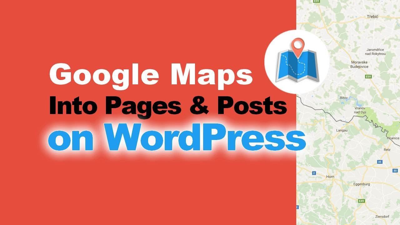 WP Google Maps: How To Add Maps With Intergeo WordPress Plugin - YouTube