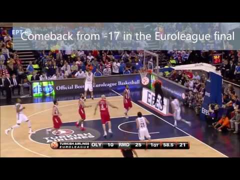 Olympiakos B.C. Top 5 Biggest Comebacks