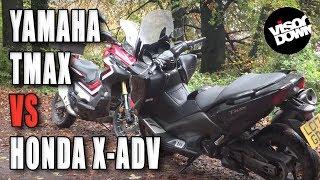 Yamaha TMAX vs Honda X-ADV Review | Visordown road test