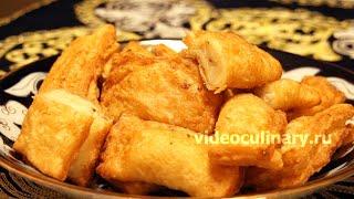 Самса слоёная с картофелем - Рецепт Бабушки Эммы