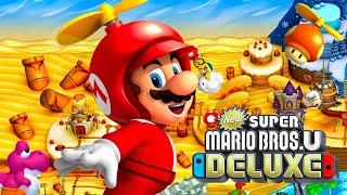 Layer-Cake Desert - New Super Mario Bros U Deluxe Part 3