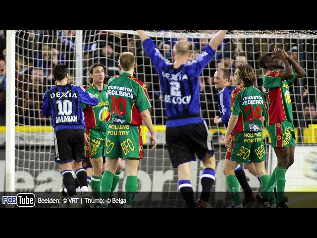 2005-2006 - Jupiler Pro League - 30. Club Brugge - Zulte Waregem 2-1
