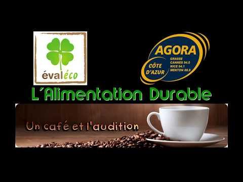 Un café et l'audition :   L'alimentation durable