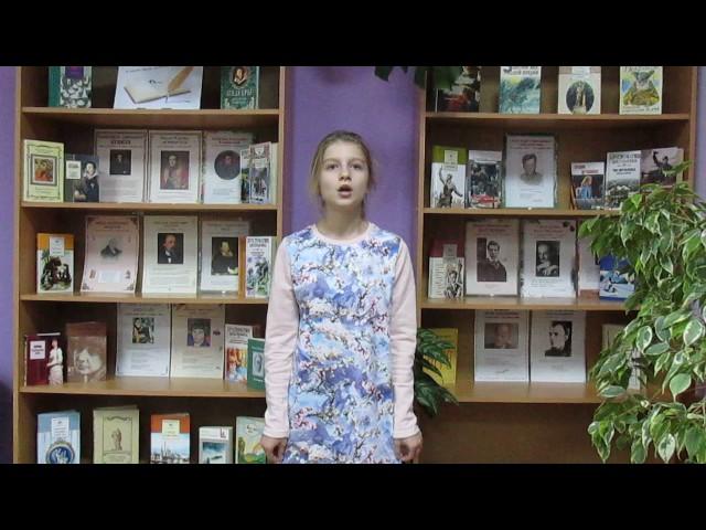 Изображение предпросмотра прочтения – КсенияБогачева читает произведение «Чародейкою Зимою…» Ф.И.Тютчева
