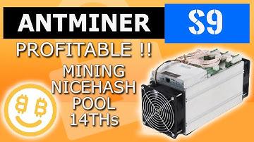 Asic Antminer S9 mine nicehash pool-Bitcoin mining nicehash profit - antminer setup-mine btc 14 THs