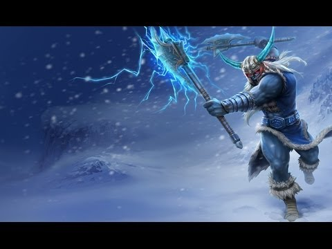 League Of Legends Normals #2 Olaf Jungle Varus Adc