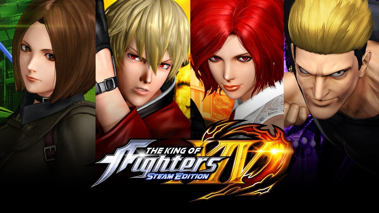 Kof Xiv Steam Edition Deluxe Pack 4 Dlc Characters Youtube