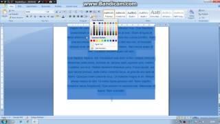 Microsoft word'te yazı tipi paragraf resim ekleme tablo düzenleme... 1