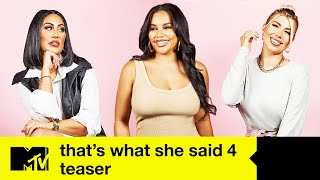 That's What She Said Series 4 Teaser | MTV
