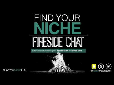 Side Hustle to Full Time Gig - Fireside Chat with Jessica Guzik of Curated Table