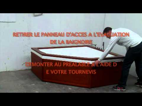 Installation Baignoire Spa Sun En Video By Tropicspa Tv Youtube