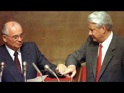 Приезжает Горбачев в