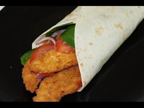 wrap-au-poulet-panko-(-cuisinerapide)
