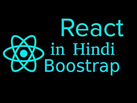 React js Hindi Tutorial # 24 use bootstrap thumbnail