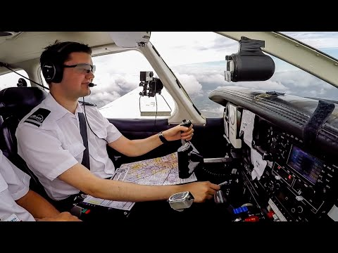 CPL Flight Training | NDB Tracking, VOR Position Fixing, Partial Panel, Stalls & Circuits