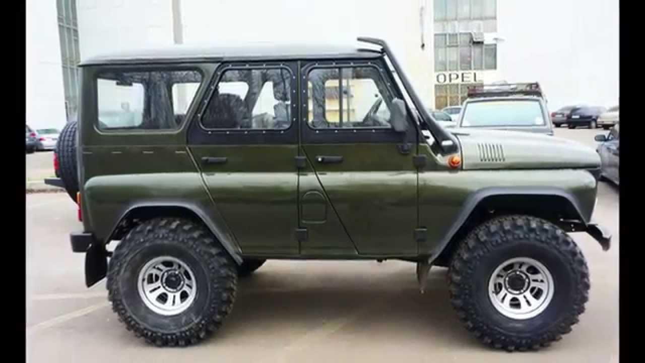 Тюнинг УАЗ – 469 - YouTube