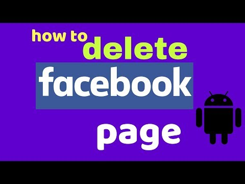 how to delete facebook page | parmanently delete your facebook page
