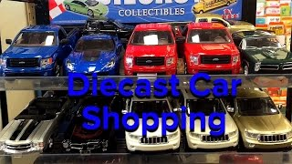 Diecast car shopping at CVS:1:24 scale cars
