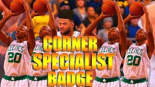 NBA 2K16 Tips/Tricks - HOW TO GET CORNER SPECIALIST BADGE