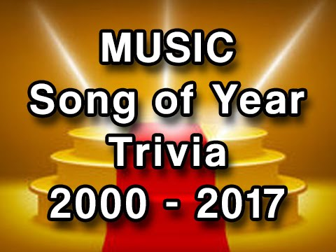 Music Trivia - Grammy Winners 2000-2017