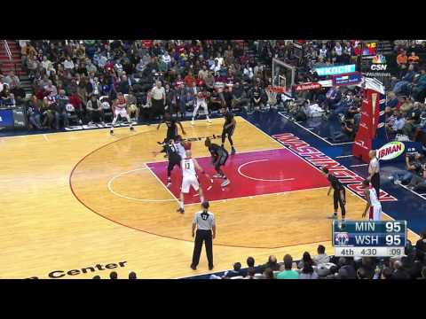 Minnesota Timberwolves vs Washington Wizards | January 6, 2017 | NBA 2016-17 Season