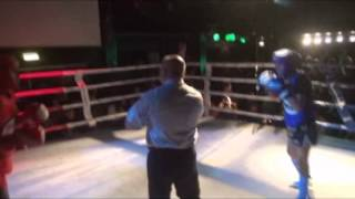 5 Abdelaziz Osman vs Vicenzo Kuzicov  48kg Christmas Blood   Fight Racism 2014