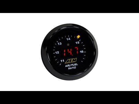 LIDA Speed: AEM 30-4100 Wideband Gauge Wiring Hack