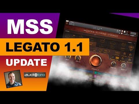 """MSS 1.1 Legato UPDATE Demo """"Quick Sketch"""""""