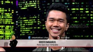 Kristo Immanuel, PENIRU SUARA 110 Karakter | HITAM PUTIH (19/03/19) Part 3