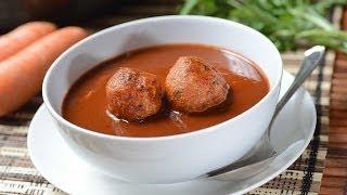 Chicken Meatballs In Thee Chiles Sauce - Albondigas De Pollo