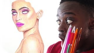 HOW TO DRAW SKIN | BASIC TIPS WITH BALLPOINT PENS