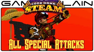 Code Name: S.T.E.A.M. - All Special Attacks