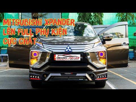 Xe Mitsubishi Xpander màu nâu độ chất nhất Việt Nam: phuộc Thái, body kit Thái,...