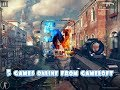 5 number of games online from gameloft