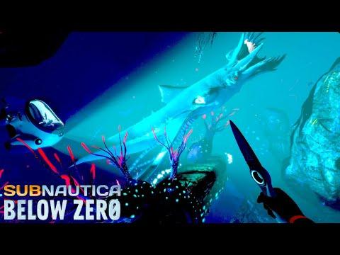 未知の水深400mでとんでもない生物に襲われる...!そして拠点が完成 - Subnautica: Below Zero #4