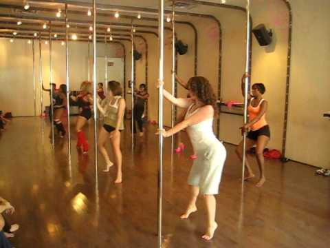 Pole Dance Class - Raindrops by Jeremih - YouTube