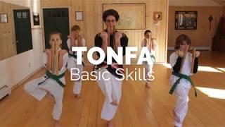 Basic Tonfa Skills: Open and Close