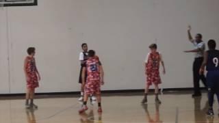 aau basketball 12u team layup vs boise slam 2017 hoopsource adidas tourney day 3 pt 2