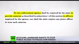 Access Denied: Missouri bill to bar public access to police body cam videos
