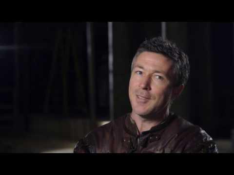 "King Arthur: Aidan Gillen ""Bill"" Behind the Scenes Movie Interview"