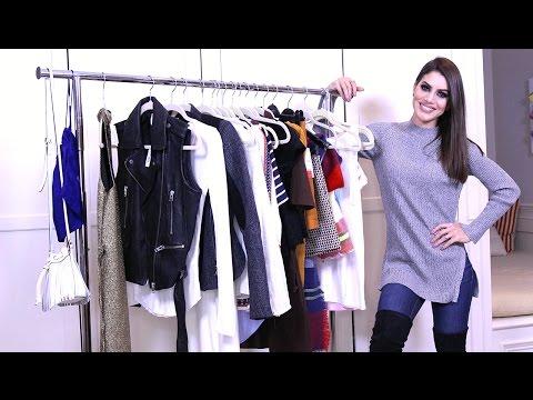 Fashion Haul Winter 2016 | Makeup Tutorials and Beauty Reviews | Camila Coelho