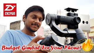 Shoot Cinematic Videos on Your Phone with Zhiyun Smooth Q 3-axis Gimbal